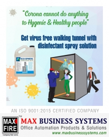Disinfectant Sanitizing Tunnel
